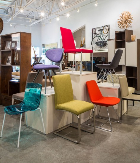 Doma's variety of contemporary chairs come in every size and color