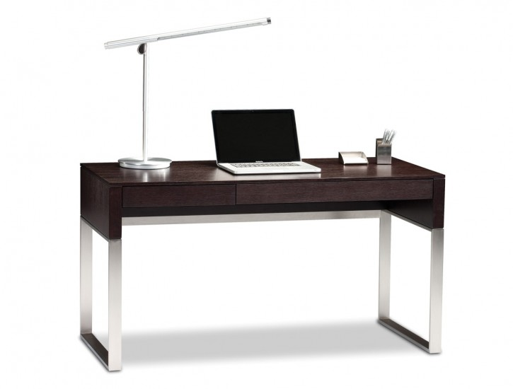This desk combines wood and metal for the best of both worlds