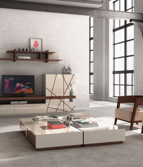 Beige and brown furniture with high ceilings are great for luxury living