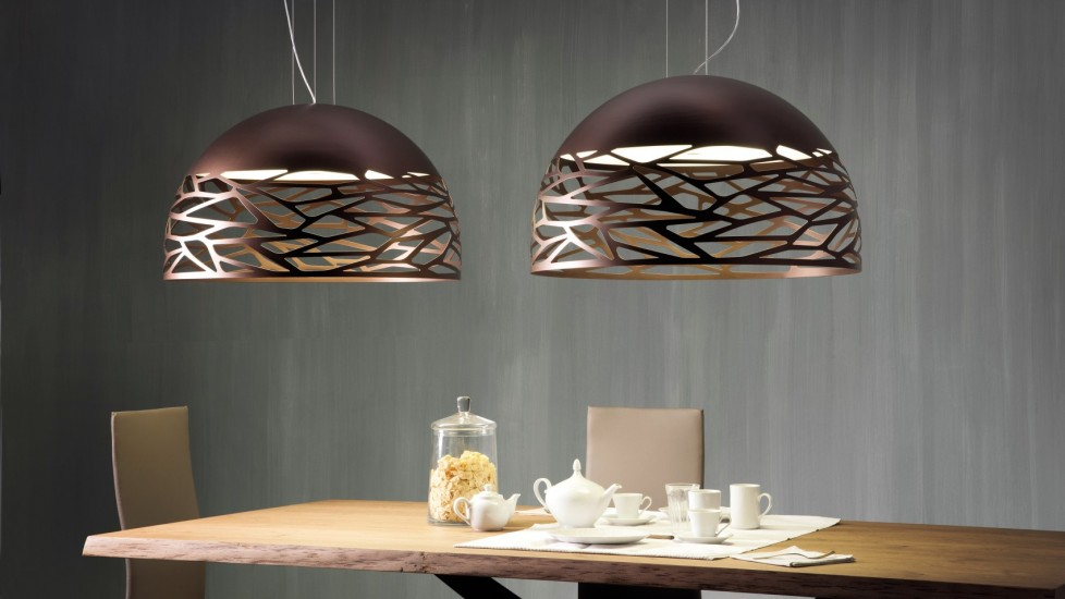 Give your kitchen an eye-catching lighting fixture sure to have your friends talking
